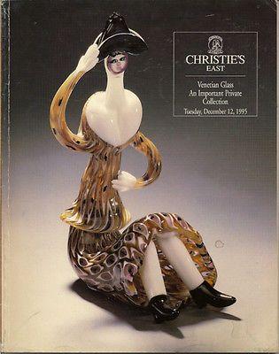 CHRISTIE'S Venini Murano Barovier Seguso Toso Venetian Glass Auction Catalog 95