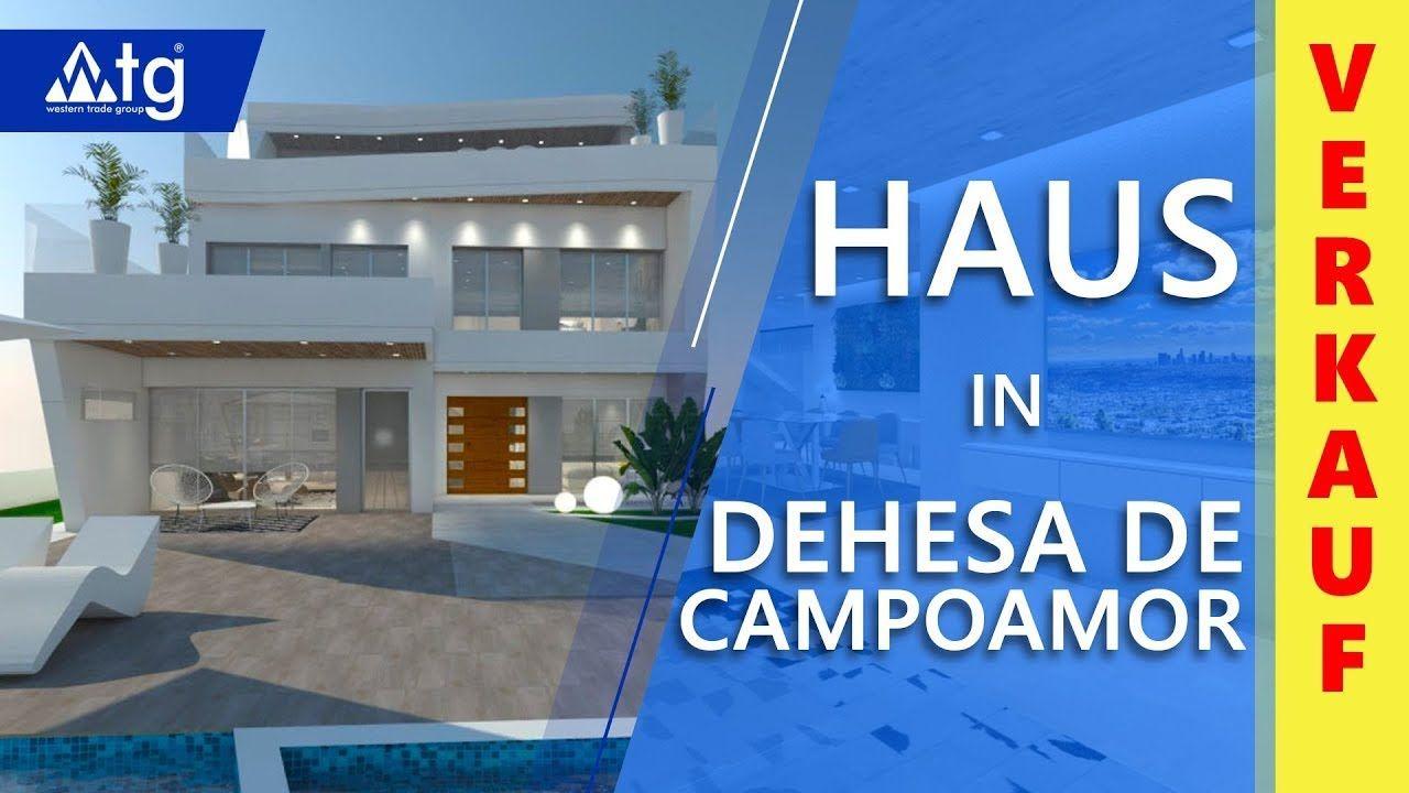 Premium Haus Nahe Dem Meer In Dehesa De Campoamor Costa Blanca In 2020 Villen Haus Solarium