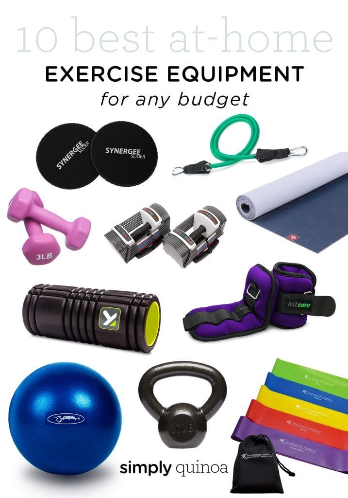 10 Best At Home Exercise Equipment For Small Spaces - Simply Quinoa