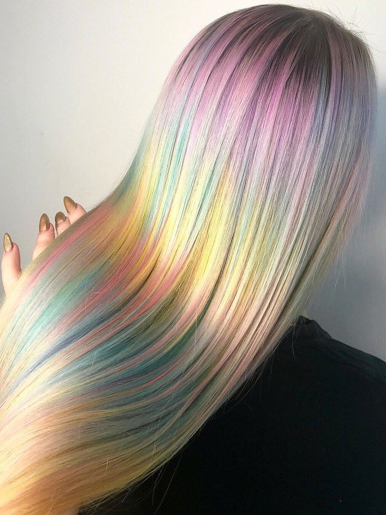 Kaleidoscope Hair Is The New Watercolor Inspired Take On Rainbow