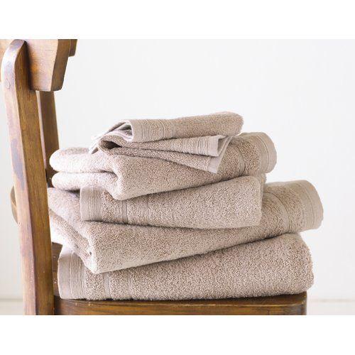 Rosetta 6 Piece Towel Set Great Knot Colour Beige Towel Set
