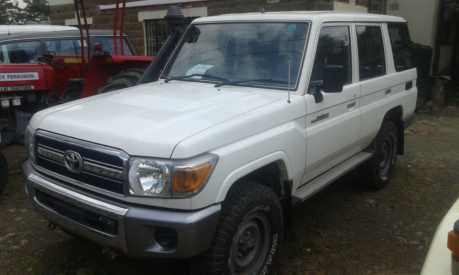 Toyota landcruiser 5 door in kenya rafiki cars