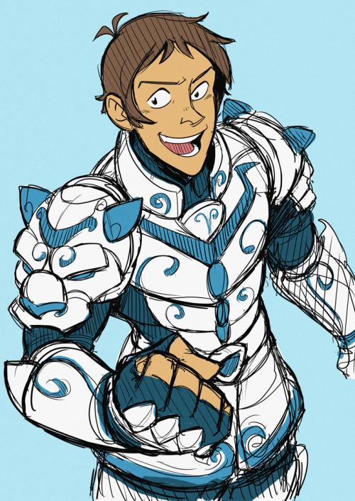 Siriniel Voltron Armor With A Little Bit Of Saint Seiya