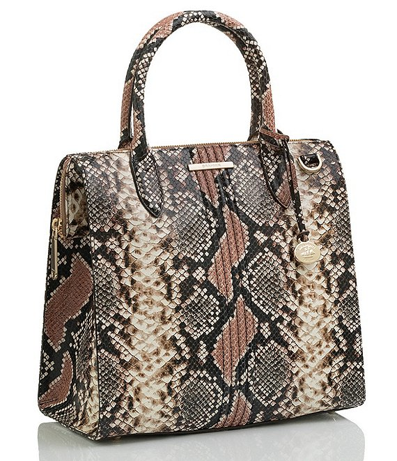 BRAHMIN Evita Collection Caroline Satchel Bag | Dillard's
