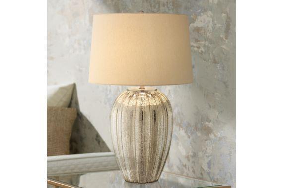 Possini Euro Naxos Fluted Glass 30-Inch-H Table Lamp - #EU7T911 - Euro Style Lighting