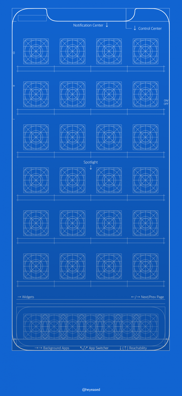 Grid and blueprint wallpapers for iPhone in 2020 Iphone