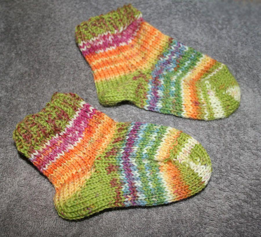Spring Toddler Socks | Free Loom Knit Patterns & Instruction ...
