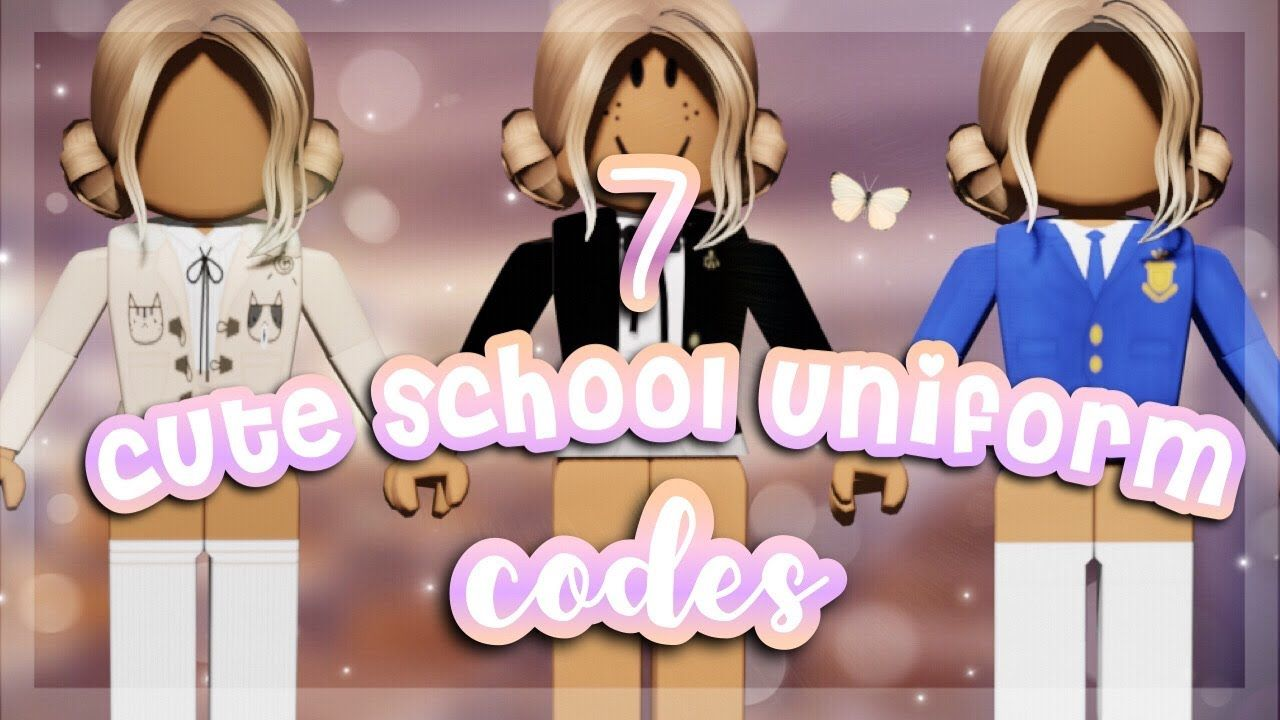 cute school uniforms / school girl outfit codes for bloxburg and