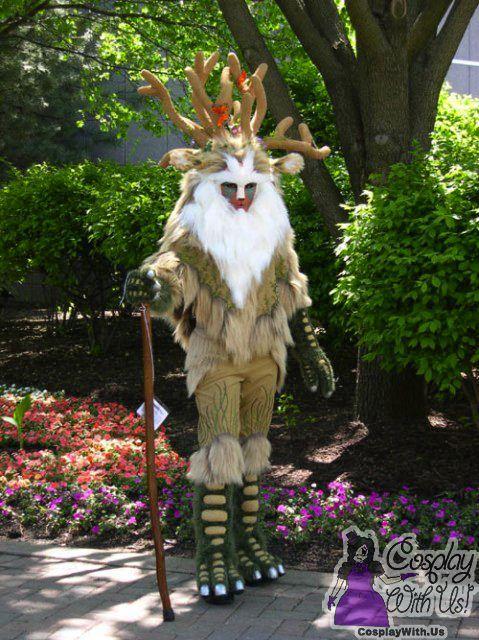 Incredible Princess Mononoke Shishigami Forest Spirit Cosplay 2