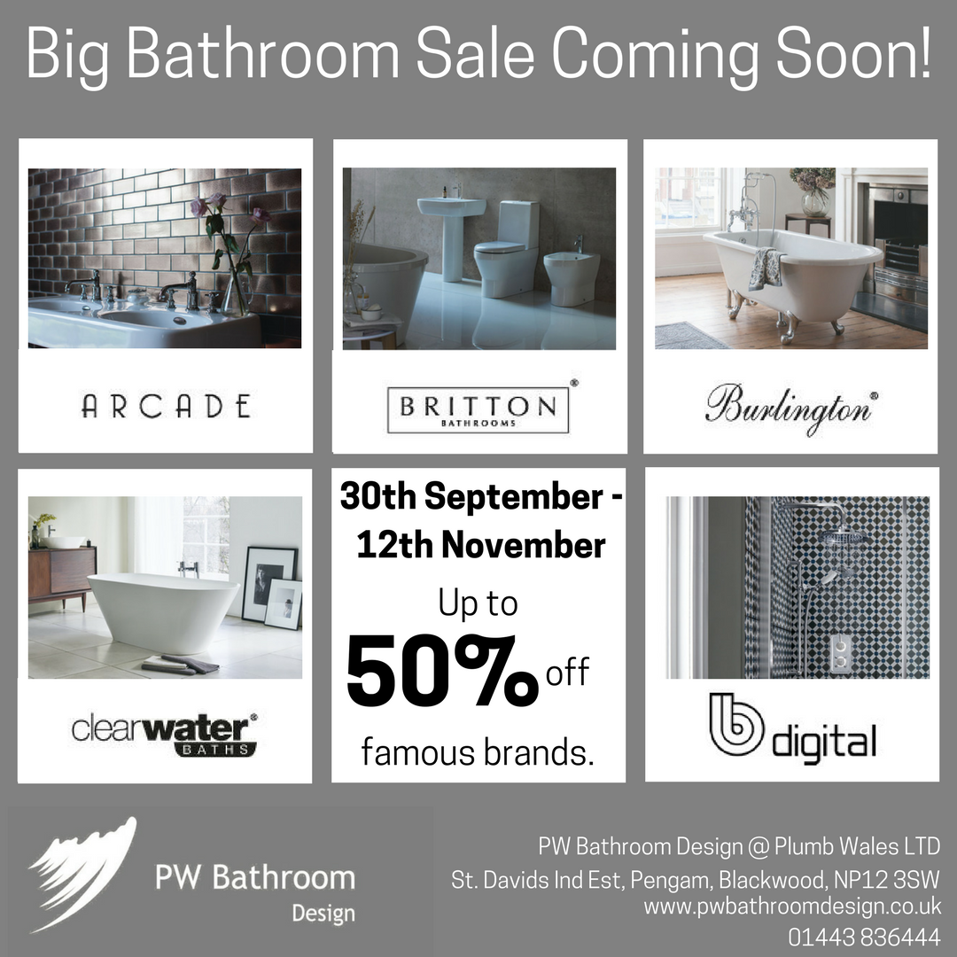 Big Bathroom Sale coming soon! 30th September - 12th ...