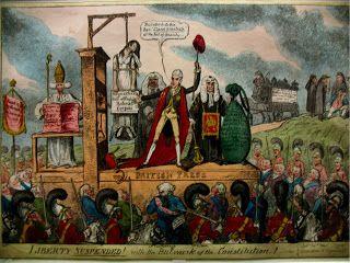 18th 19th Century Political Magna Carta Political Art