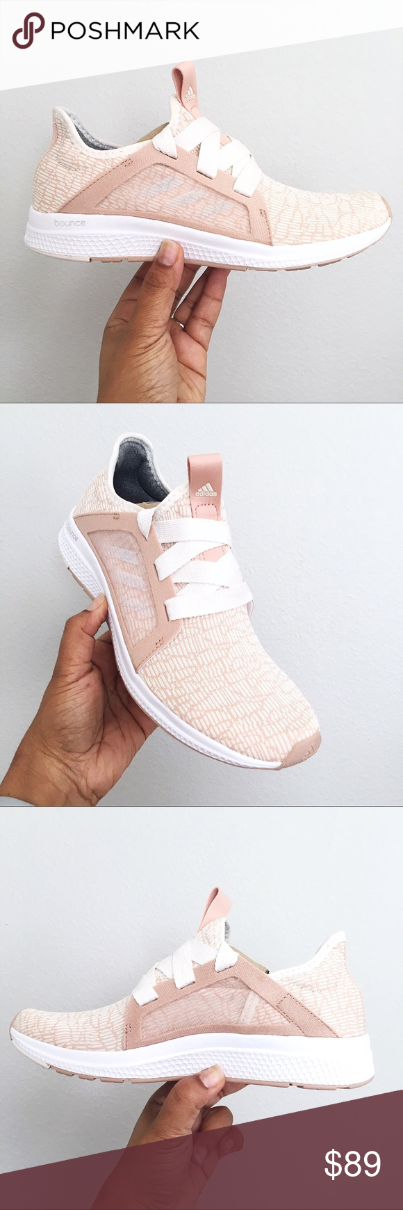 75355f8c6166f Adidas Edge Lux Bounce Women s Size 8 Brand new in Bow with Lid - Adidas  CQ1239 Cloud Beige Light - Mesh overlay side walls - Breathable Upper -  Snug fit ...