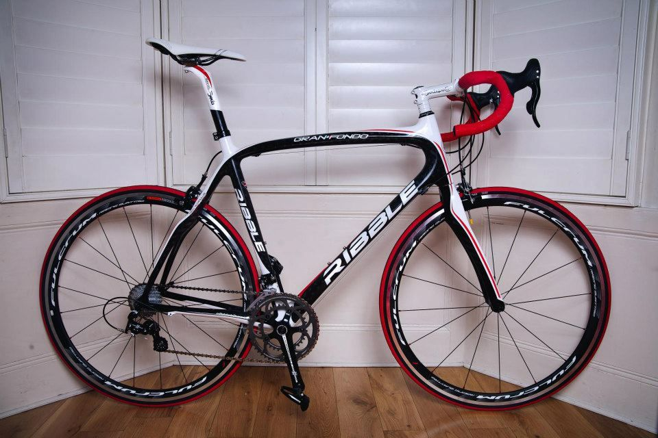 Ribble Gran Fondo Looking Sweet With The Fulcrum Wheels And Red