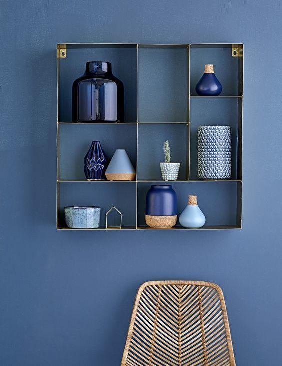Pared Pintada En Azul House En 2018 Pinterest Interior - Paredes-pintadas-de-azul