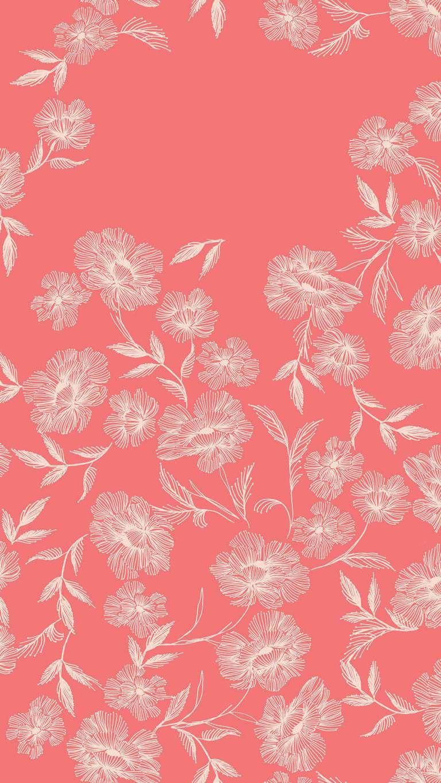 Iphone X Floral Wallpaper Hd 2018 Nr20 Papir Hatterek Telefon