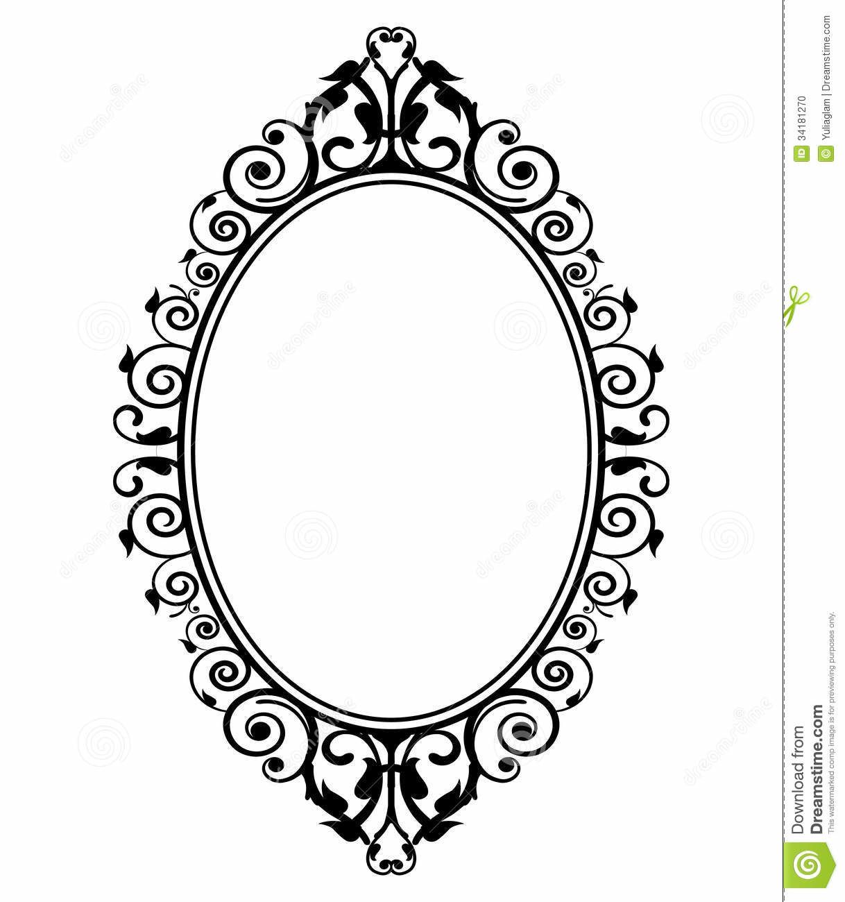 hand held mirror coloring pages - photo#26