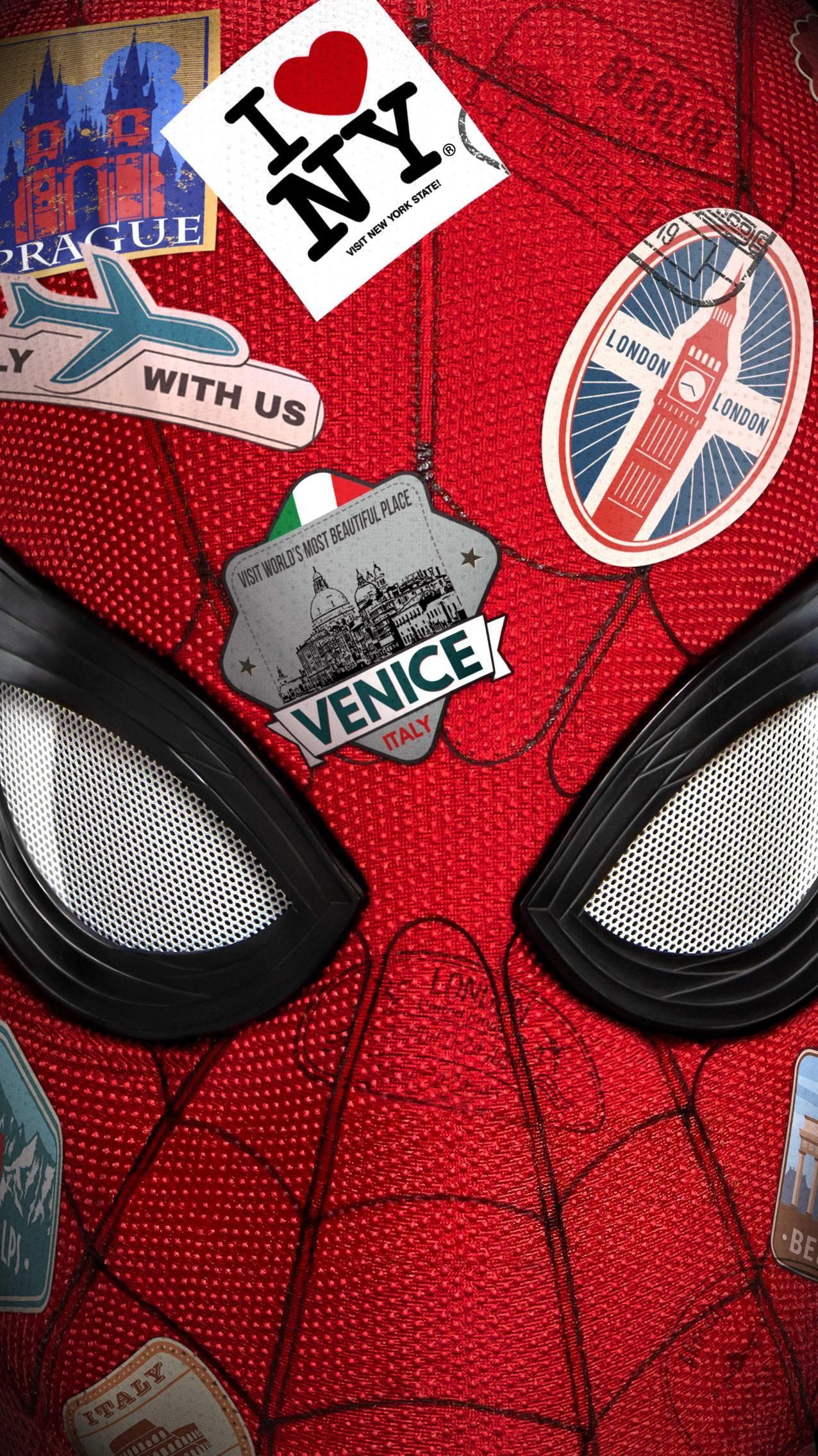 Wallpaper For Spider Man Far From Home 2019 Wallpaper Iphone Pahlawan Marvel Pahlawan Super