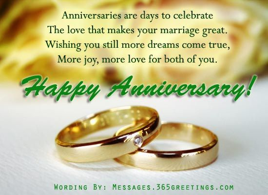 Anniversary Messages For Friends Happy WeddingAnniversary Wishes