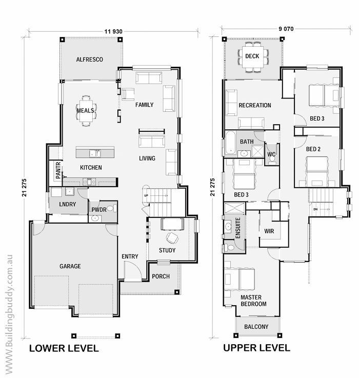 Floorplans calistemon highset 700 737 st for Highset house plans