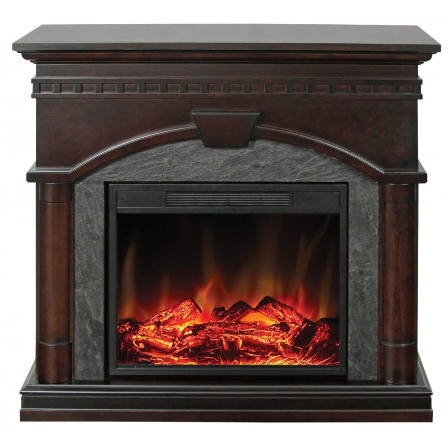 Muskoka Cavan Electric Fireplace In Burnished Walnut Mef2367bwlg