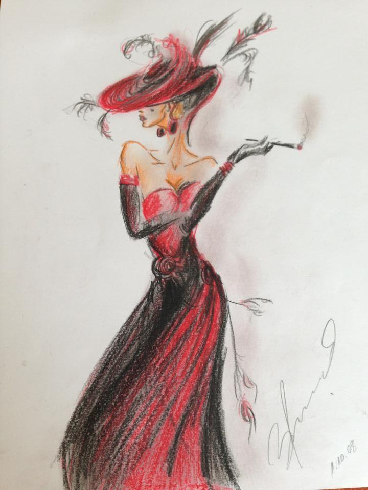 Fashion Sketch Fashion Illustration