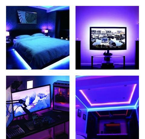 Led Strip Light W Remote Control Led Strip Lighting Led Lighting Bedroom Room Lights