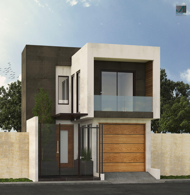 Remodelaci n fachada contempor nea propuesta 2 for Remodelacion de casas pequenas