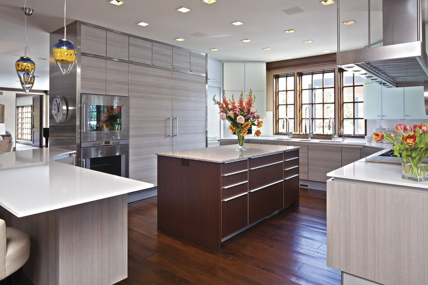 Cambria's Castell and Newport kitchen countertops. #Cambria ...