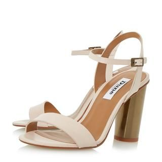 DUNE LADIES MATYLDA - Two Part Round Heel Sandal - nude | Dune Shoes Online