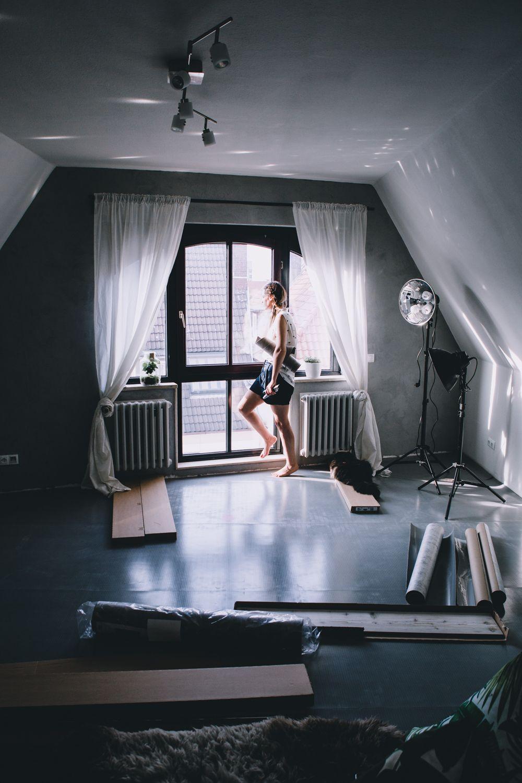 Fußboden selbst verlegen, Bioboden fürs Wohnzimmer, Wohnzimmer ...