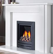 Kinder Black Magic - A modern, coal effect gas fire which can be installed to almost all flue types.