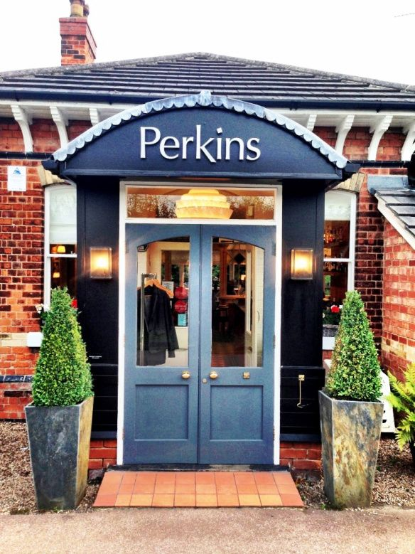 Perkins Restaurant Plumtree Nottingham Front Door Old Station