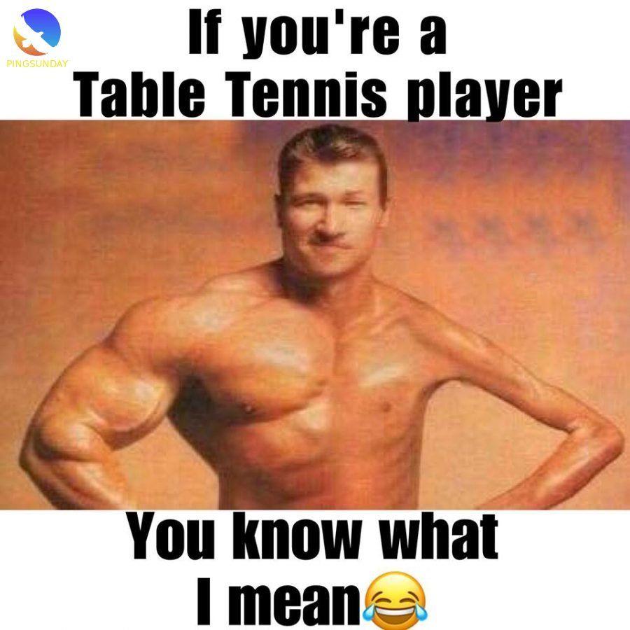Best Table Tennis Jokes Funny Memes Pingsunday Table Tennis Tennis Tennis Workout