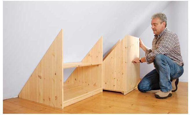 drempelschrank furniture pinterest dachboden haus und dachschr ge. Black Bedroom Furniture Sets. Home Design Ideas