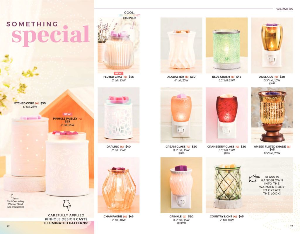 NEW SCENTSY SPRING SUMMER 2018 CATALOG INFO | SCENTSY ...