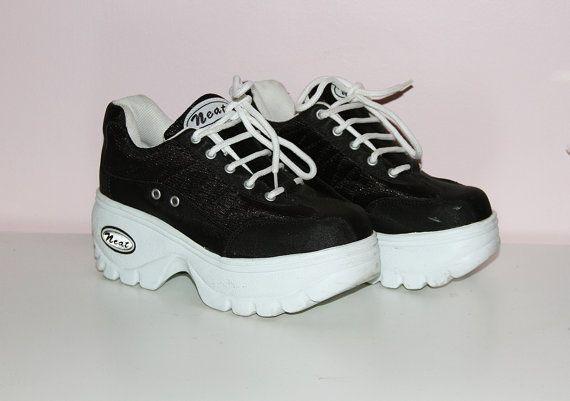 90s Platform Sneaker | Vintage 90's Footwear | Sneakers
