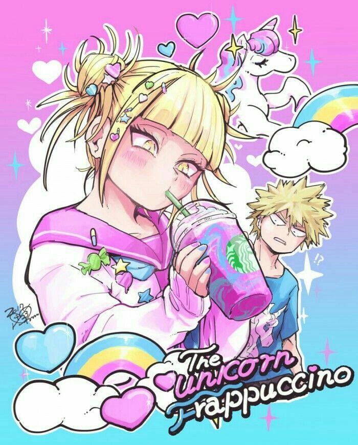 Not Available On Starbucks My Hero Hero Unicorn Poster