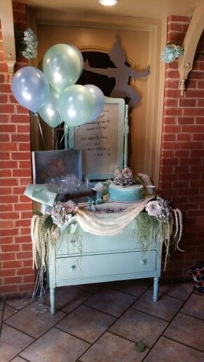 Peter Pan, Baby, Shower, Etched, Mirror, Theme, Diy, Chalk