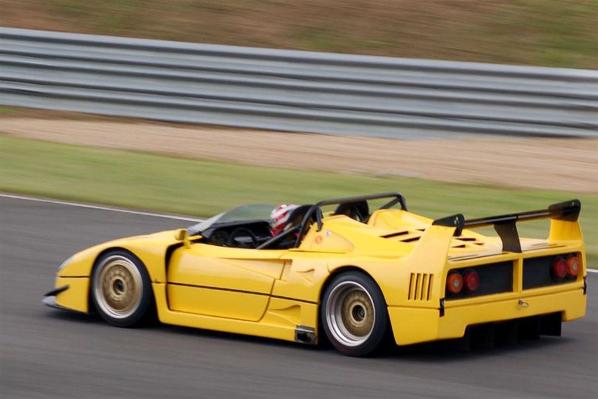 The Story Of The Ferrari F40 Lm That Lost Its Top Ferrari F40