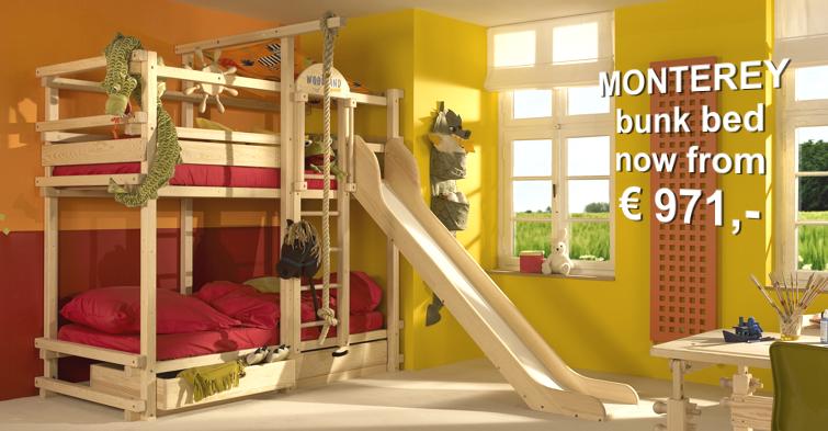 Supercool Bunk Beds W Slide Woodland Germany Kids Stuff Bunk