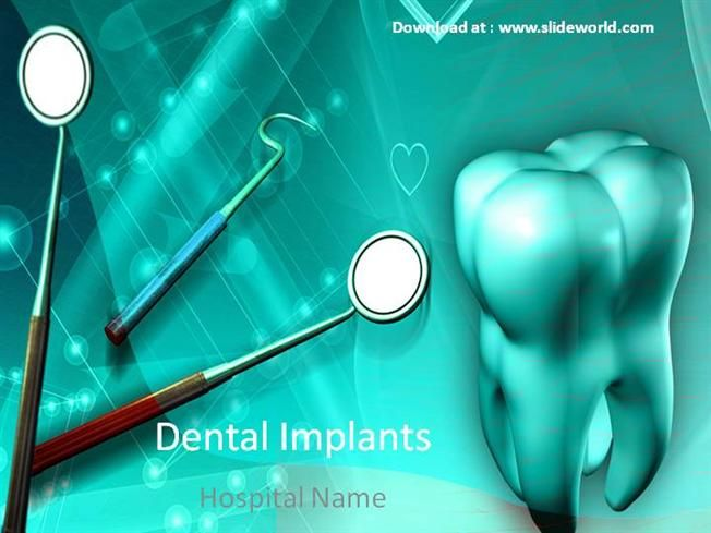Dental Powerpoint Ppt Templates Powerpoint Template For Dentis