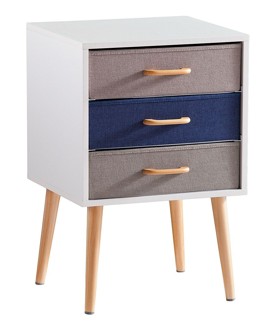 Look what I found on #zulily! Maydell Triple Drawer Storage Table by Southern Enterprises #zulilyfinds