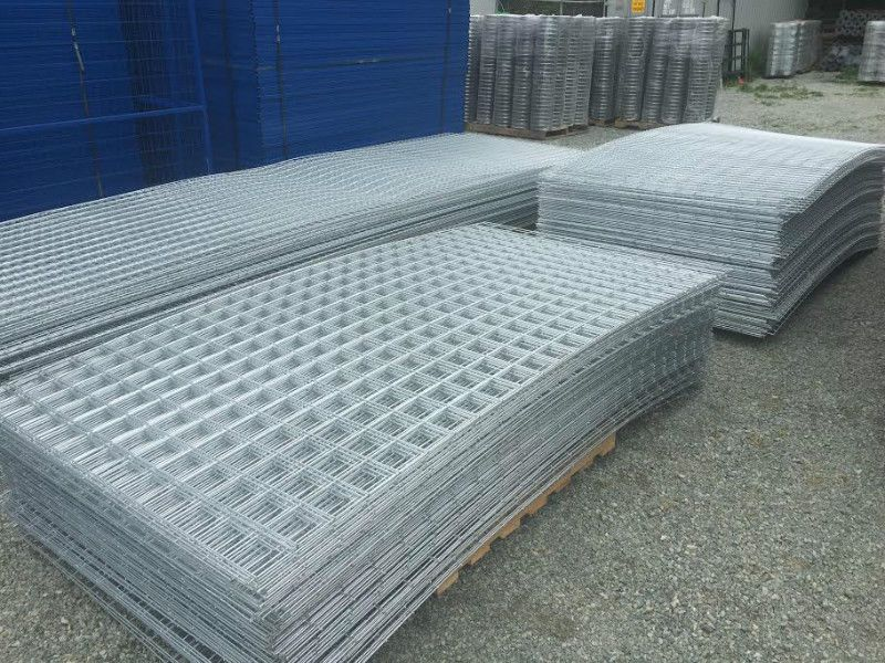 all panels are hot dipped galvanized so that even the welds wont ...