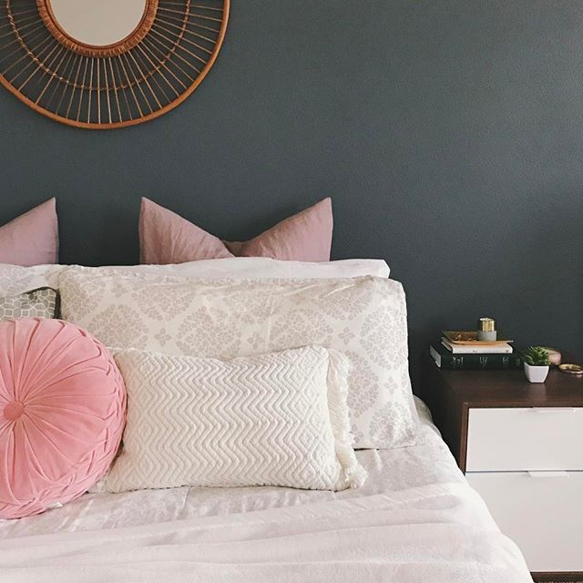 Bedroom inspiration Blush pink / dusty pink blush
