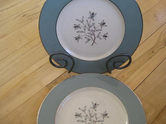 Lenox Kingsley Dinner Plates Excellent Vintage by ChinaGalore, $60.00