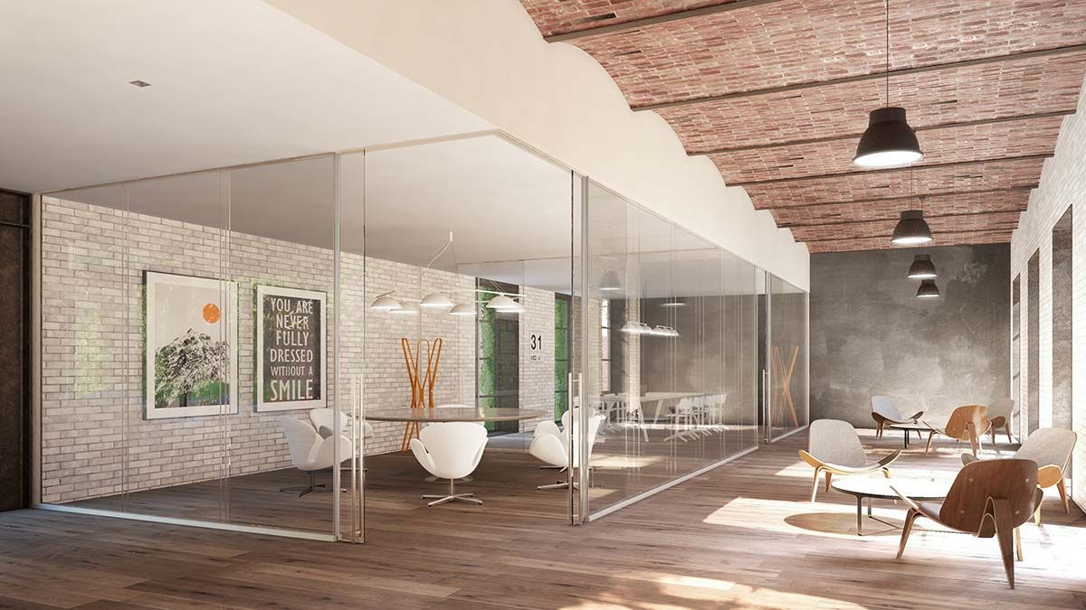 Dise o renders y tour virtual de oficinas coworking for Oficina virtual sevilla