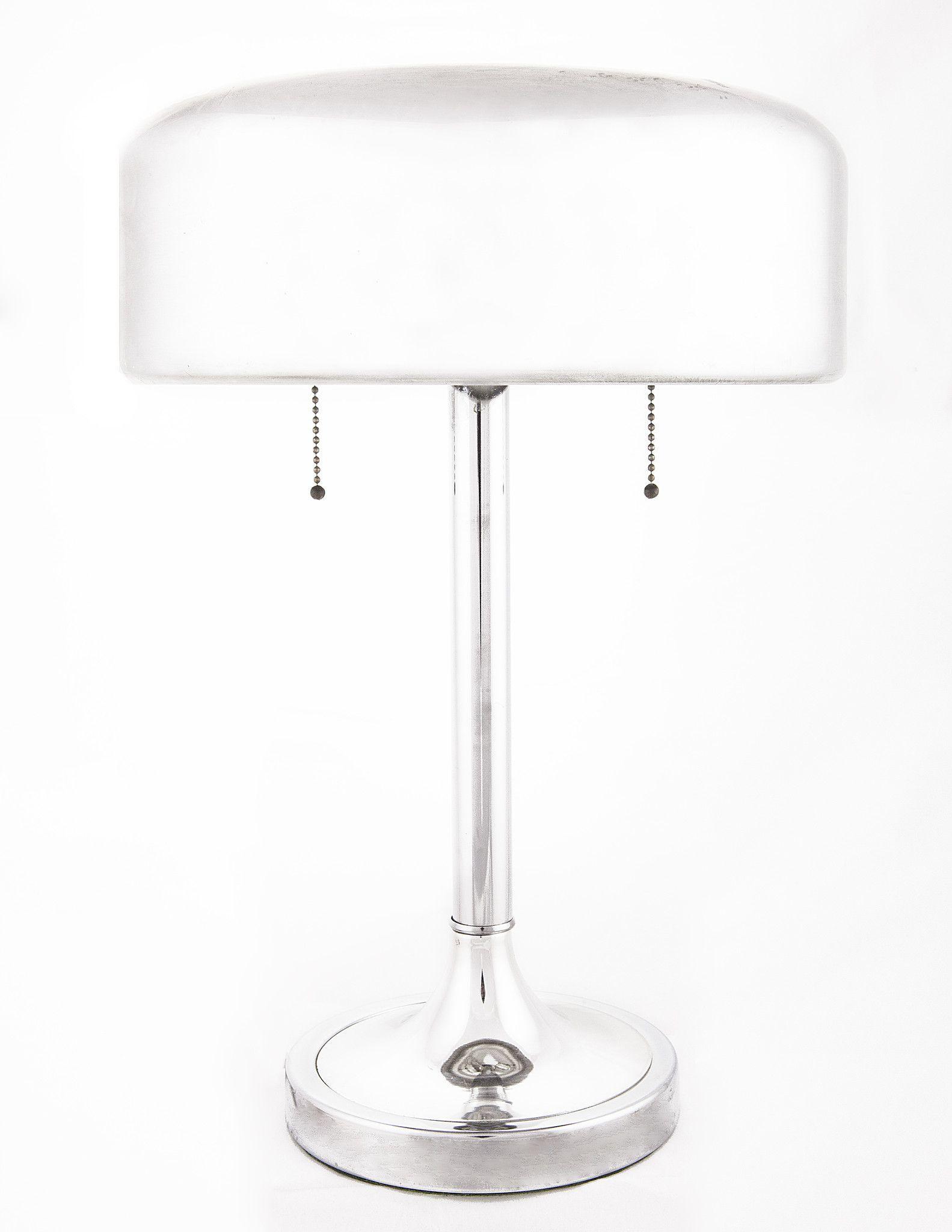 Vintage 1930\'s Nickel Plated Bauhaus Desk Lamp | Bauhaus, Desk lamp ...
