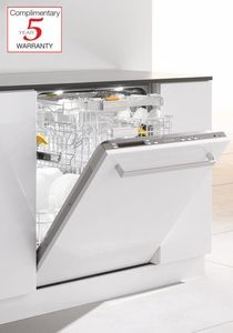 G5975scvi Miele Futura Diamond Full Size Fully Integrated Dishwasher With Cutlery Tray Custom Panel