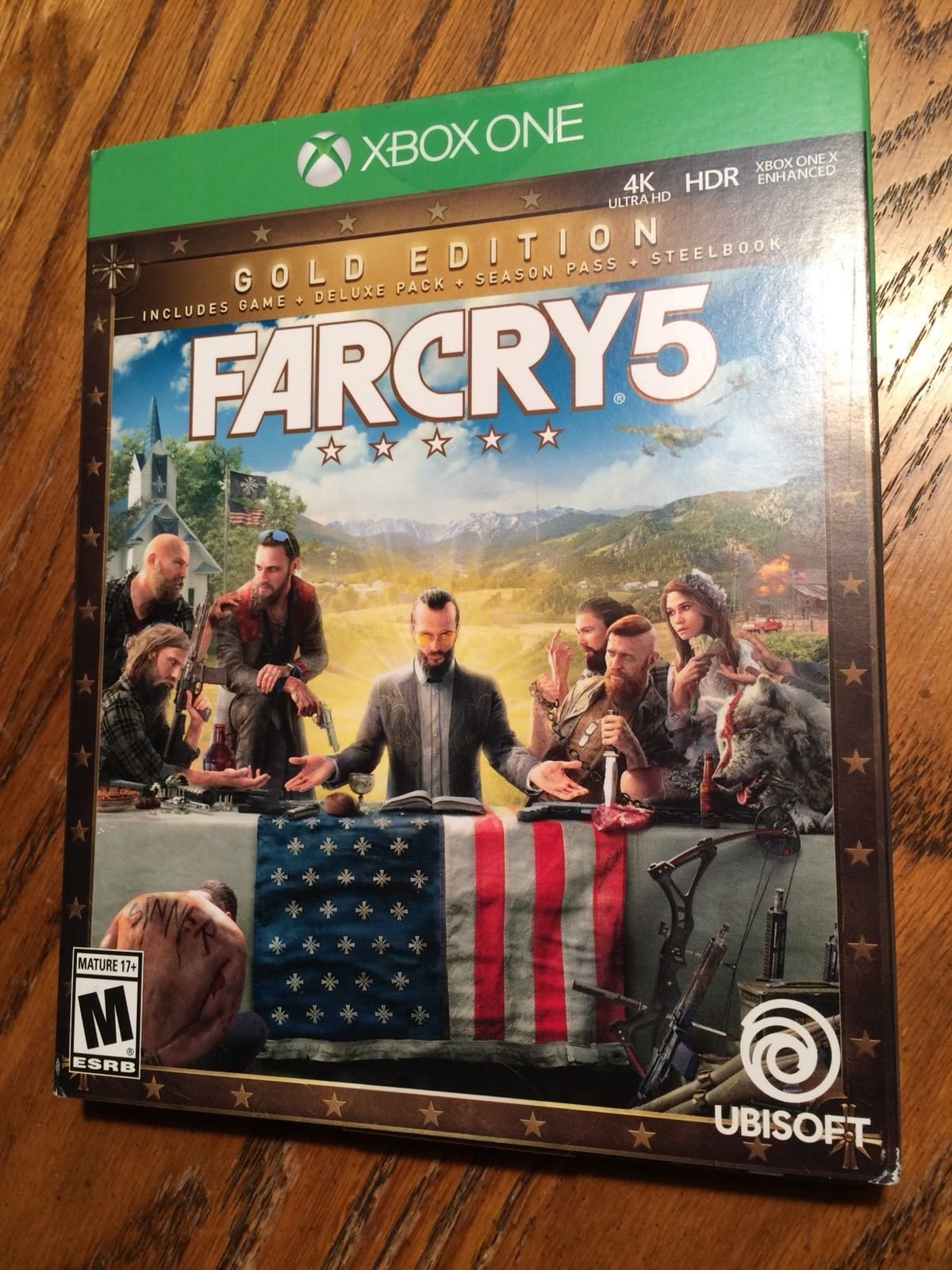 Far Cry 5 Steelbook Xbox One Gold Edition New In Hand Ships Fast 94 98 End Date Thursday Apr 26 2018 21 35 07 Pdt Buy It Now Fo Xbox Xbox One Far Cry 5