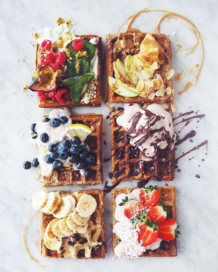 13 Waffles suculentos que harán salivar solo con verlos | Food, Aesthetic food, Food goals